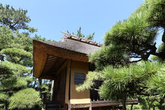 Japanese tea house Stock Images