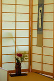 Japanese Tea House. A traditional Japanese ceremonial tea house Stock Photos