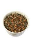 Japanese Tea Leaves Stock Photos