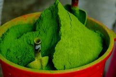 Japanese tea Matcha Matcha on the market stock photos