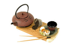 Japanese Tea & Sushi Stock Photo