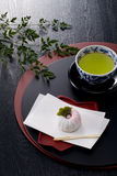 Japanese tea time Stock Images