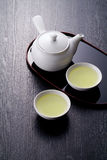 Japanese tea time Stock Image