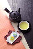 Japanese tea time Royalty Free Stock Image