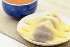 Japanese tea time Stock Image