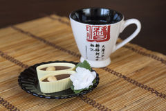 Japanese tea tradition royalty free stock images
