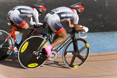Japanese Team at Asian Cycling Championships 2012 Royalty Free Stock Photography