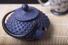 Japanese teapot Royalty Free Stock Images
