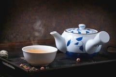 Japanese teapot Royalty Free Stock Photo
