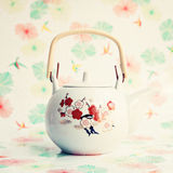 Japanese Teapot Stock Photography