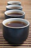 Japanese teapots Stock Photo