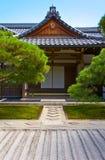 Japanese Temple. Ginkaku-ji - the Silver Pavilion - a zen temple in Kyoto, Japan Stock Photos
