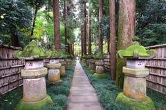 japanese temple Arkivfoto