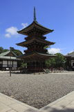 japanese temple 免版税库存照片