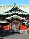 Japanese Temple. Old temple in Ueno Park, Tokyo Royalty Free Stock Photos