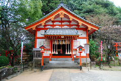 japanese temple Royaltyfri Foto