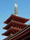 Japanese temple. Traditional temple in Japan, traditional architecture Stock Images