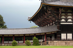 Japanese temple. Japanese architecture Stock Photography