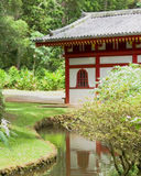 Japanese Temple. Byodo-In, a Japanese temple on Oahu, Hawaii Royalty Free Stock Image