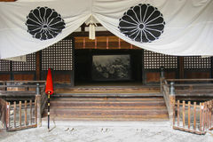 japanese temple 免版税库存图片