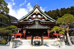 Japanese Temple At Mt. Minobu Royalty Free Stock Photography