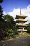 Japanese Temple Building Stock Photo