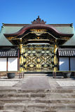 Japanese Temple Front Gate Stock Photography