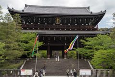 Japanese temple Kyoto Japan Stock Photography
