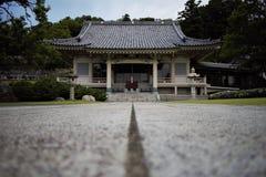 Japanese temple in Machida, Tokyo, Japan stock photo