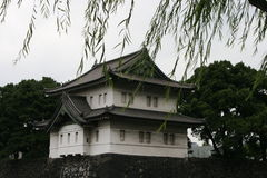Japanese Temple. This is an old building, a japanese temple located in Tokyo, Japan Stock Photography