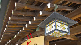 Japanese temple old light Royalty Free Stock Photos