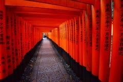 Japanese temple path Stock Photos
