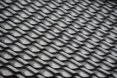 Japanese temple roof tiles Royalty Free Stock Image