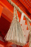Japanese temple rope Stock Photography