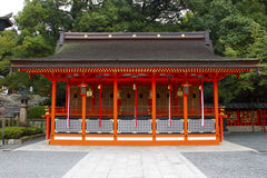 Japanese temple shrine Royalty Free Stock Photos
