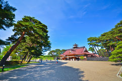 Japanese Temple in summer Stock Photography