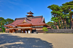 Japanese Temple in summer Stock Photo