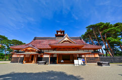 Japanese Temple in summer Royalty Free Stock Photos