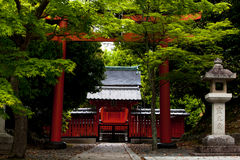 Japanese temple Royalty Free Stock Photos