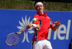 Japanese tennis player Kei Nishikori Stock Photo
