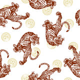 Japanese tiger Royalty Free Stock Images