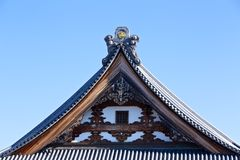 Japanese tile roof Stock Image