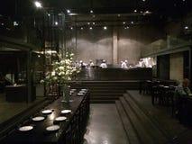 Japanese time. Japan shanghai dinner Resturant open Stock Image