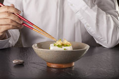 Japanese tofu Royalty Free Stock Photo