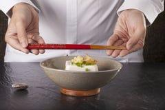 Japanese tofu Stock Image