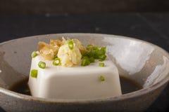 Japanese tofu Stock Photography