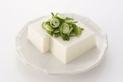 Japanese Tofu in summer Stock Image