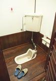 Japanese toilet Royalty Free Stock Photos