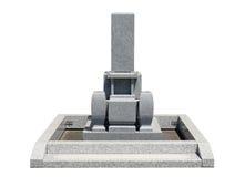 Japanese tomb stone Stock Photo