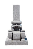 Japanese tomb stone Royalty Free Stock Images